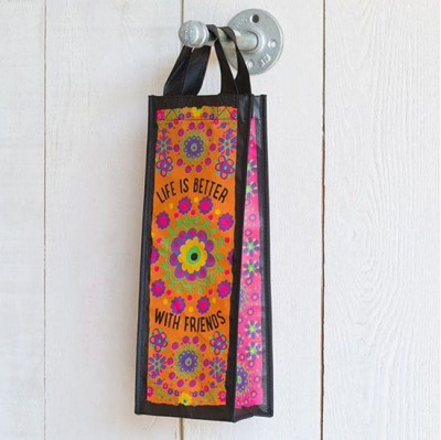 Recycled Gift Wine Bag M